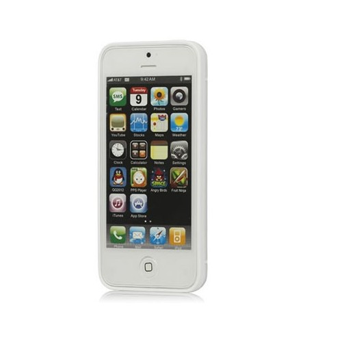 Coque Newton iPhone 4 / 4s Blanc