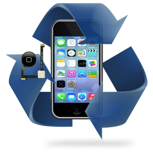Remplacement bouton home iPhone 4 / 4S
