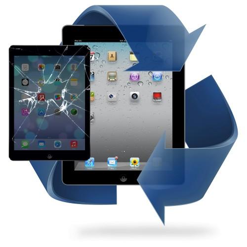 Remplacement écran tactile iPad 2