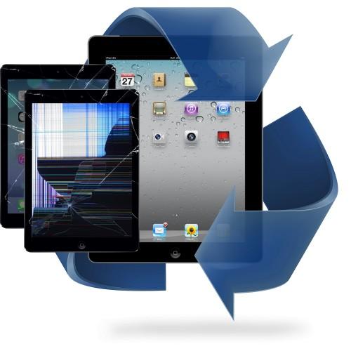 Remplacement vitre tactile + écran LCD iPad