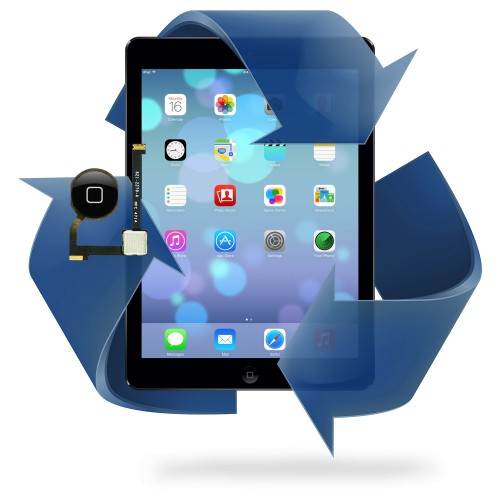 Remplacement bouton home iPad Air / Air 2