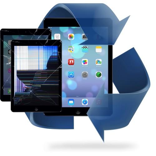 Remplacement vitre tactile + écran LCD iPad mini