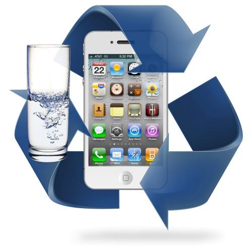 Désoxydation  iPhone 4 / 4S