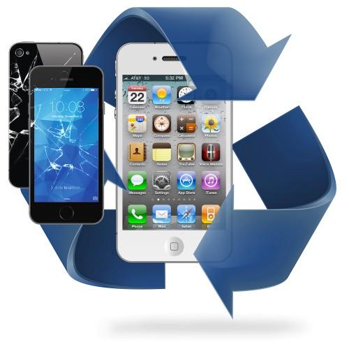 Remplacement écran avant + vitre arriere iPhone 4 / 4S