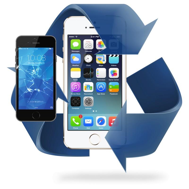 Remplacement écran tactile iPhone 5
