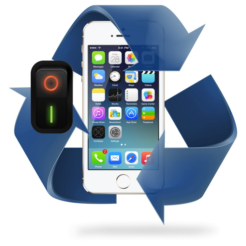 Remplacement bouton Power iPhone 5