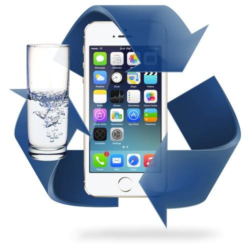 Désoxydation iPhone 5 / 5S / 5C / 5SE