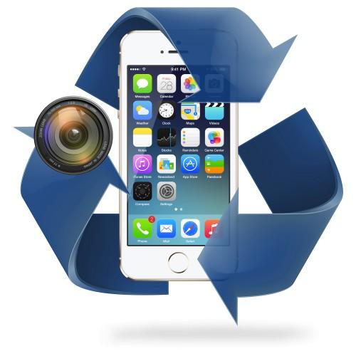 Remplacement caméra AVANT iPhone 5 / 5S / 5C