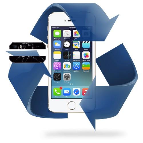 Remplacement vitre arrière iPhone 5 / 5S / 5SE