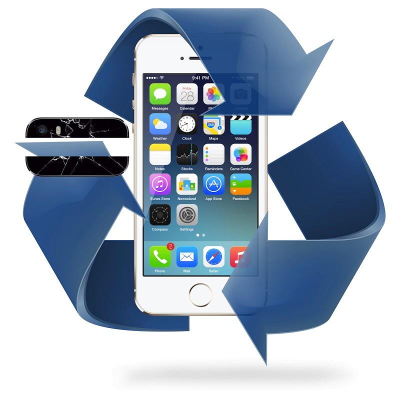 Remplacement vitre arrière iPhone 5 / 5C / 5S / 5SE