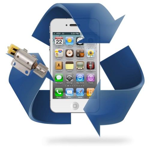 Remplacement vibreur iPhone 4