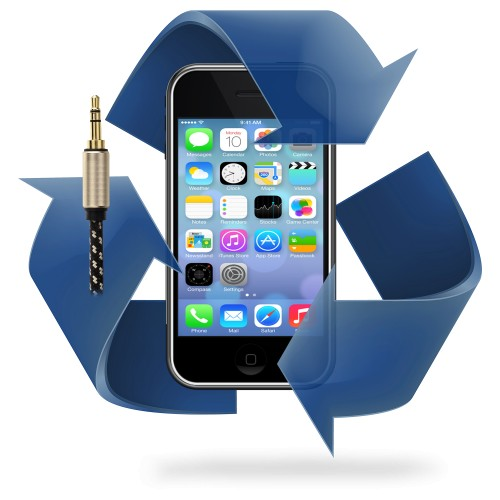 Remplacement prise jack - bouton volume iphone 3G / 3GS