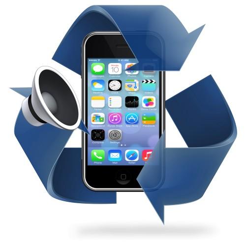 Remplacement haut parleur iPhone 3G / 3GS