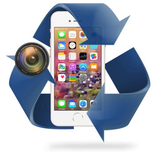 Remplacement caméra AVANT iPhone 8 / 8 Plus
