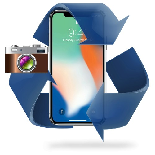Remplacement caméra ARRIERE iPhone X