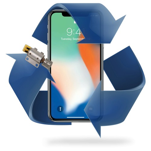 Remplacement vibreur iPhone X