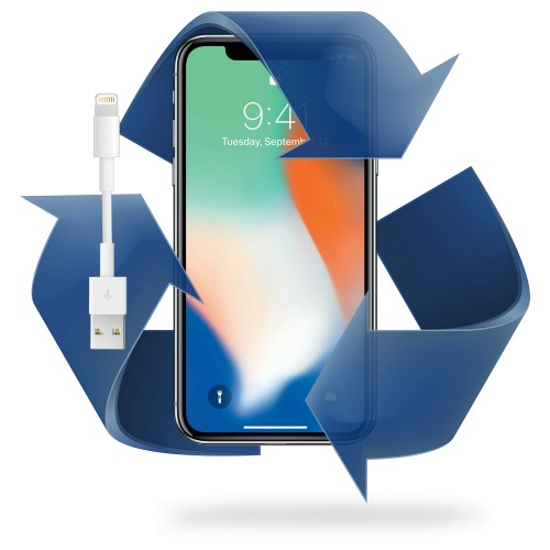 Remplacement prise charge iPhone X