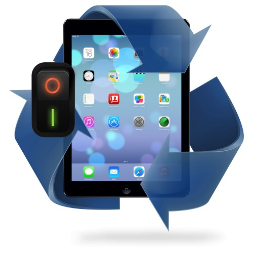Remplacement bouton power iPad 5 / iPad 6
