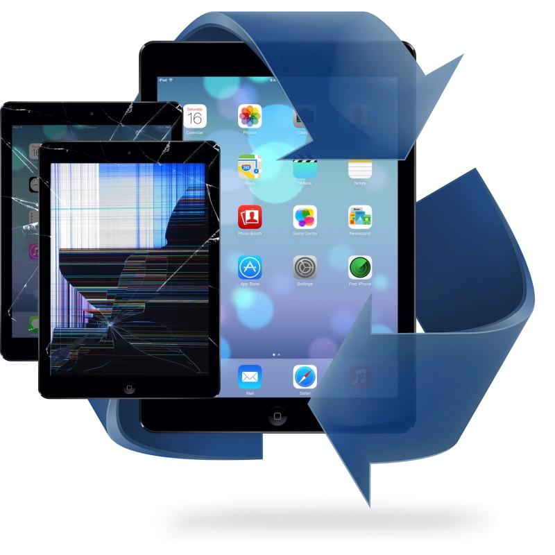 Remplacement vitre tactile + écran LCD iPad 5 / iPad 6