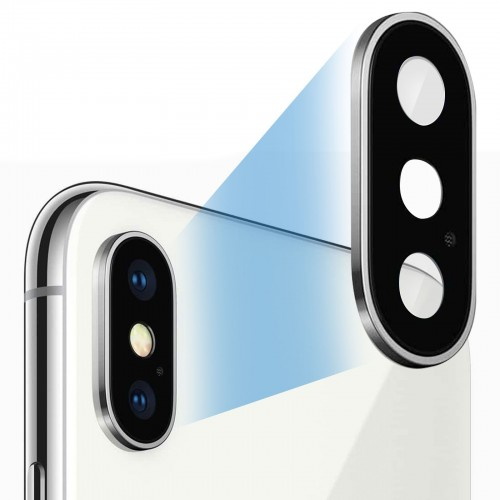 Remplacement lentille appareil photo arrière iPhone X