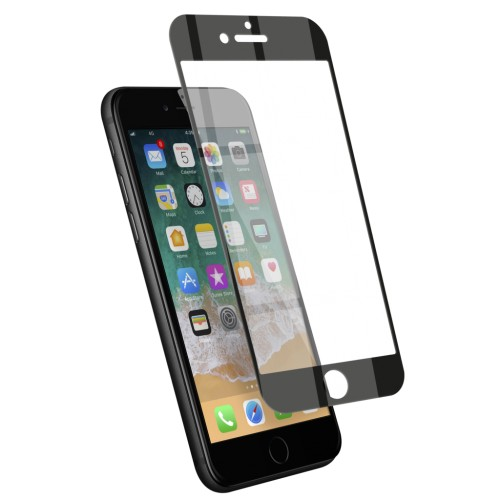 Film écran en verre trempé 100% complet - iPhone 7 / 7Plus