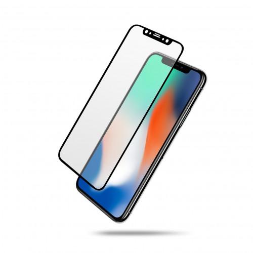 Film écran en verre trempé 100% complet - iPhone X / XS / XR / XS Max