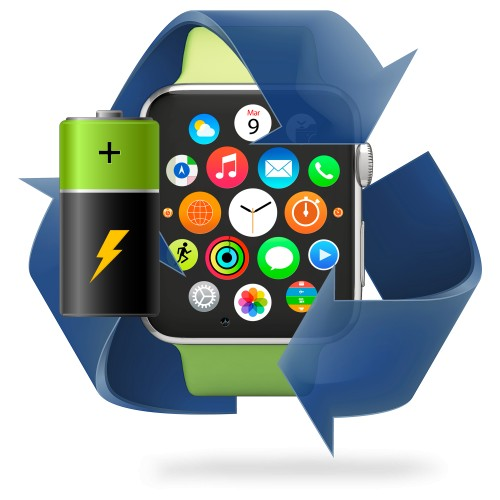Remplacement batterie Apple Watch série 3
