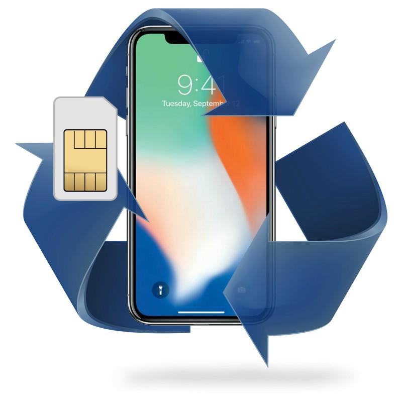 Remplacement lecteur sim iPhone 12